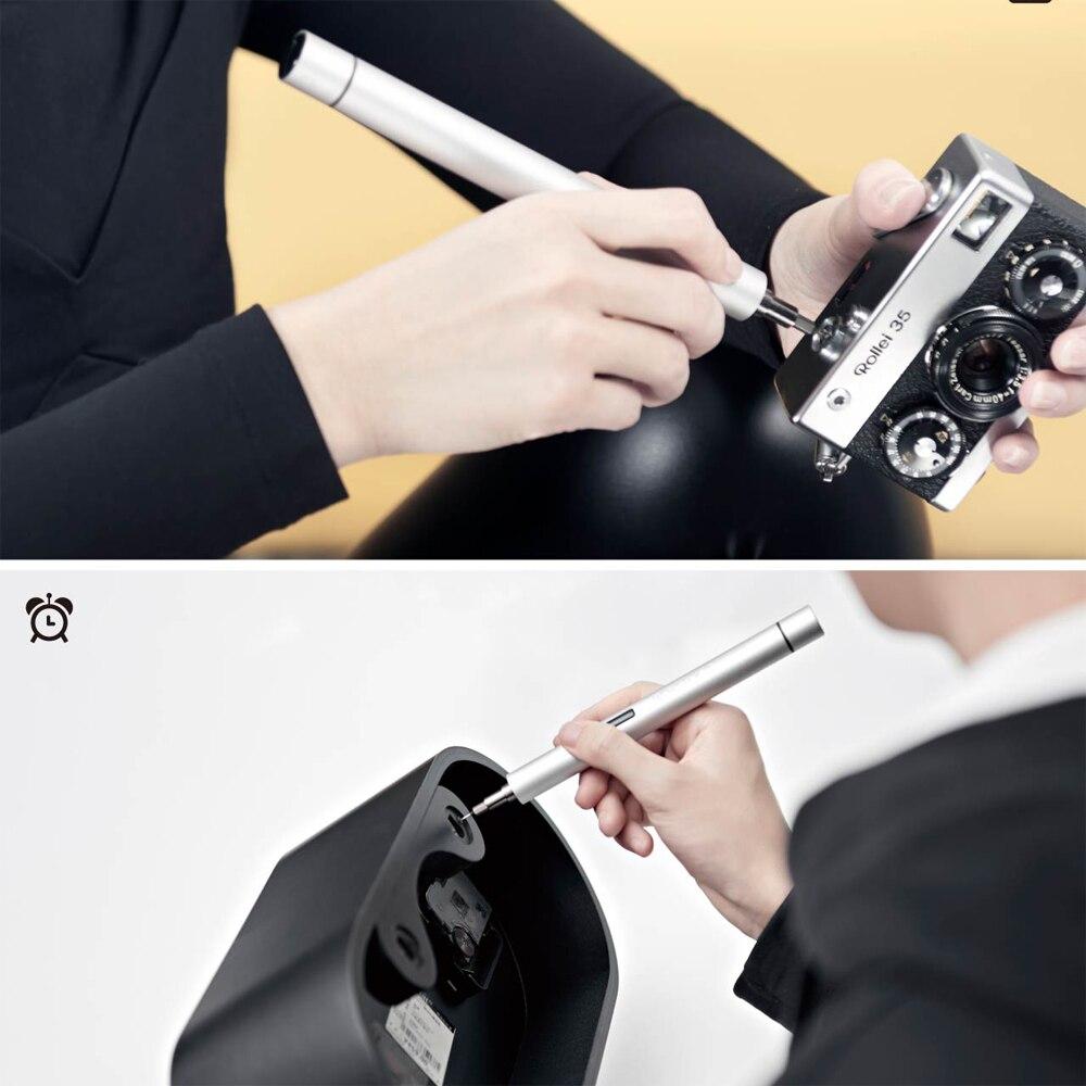 Wowstick 1p 20 в 1 прецизионный Мини Ручной беспроводной электрический шуруповерт телефон камера точные крошечные компоненты Инструменты для ремонта