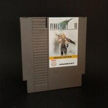 Schluss Retro Spiel Fantasy VII 7 oder Sack Gelb Version Englisch Sprache Top qualität PCB Spiel Karte 72 pins 8bit spiel patrone