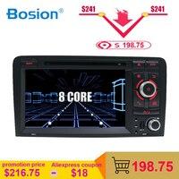 OCTA CORE Android 8,1 coche DVD GPS para Audi A3 2006-2011 con reproductor de dvd radio estéreo de Audio auto multimedia, pantalla de navegación BT