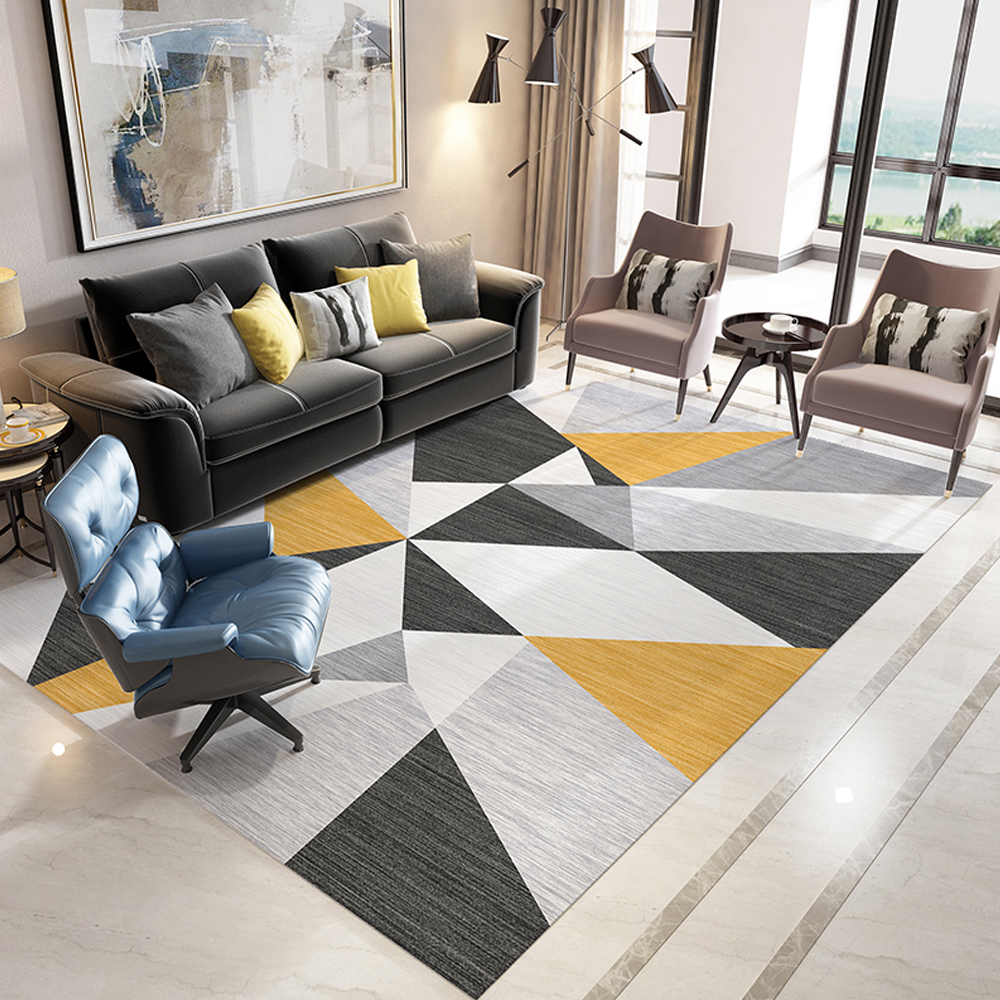 New Bohemia Style Washable Carpet Rug For Living Room Modern Printing Geometric Floor Rug Carpet For Parlor Mat Bedroom Washroom