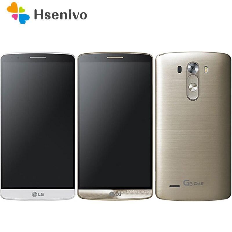 100% Original Unlocked LG F460 LG G3 Prime G3 Cat.6 5.5'inch 3GB RAM 32GB ROM 13.0 MP 4G WIFi Mobile Phone Free Shipping