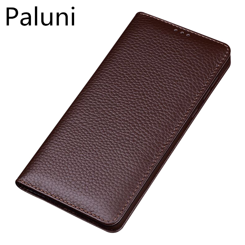 Natural genuine leather ultra thin case for Samsung Galaxy S9 Plus/Samsung Galaxy S9 flip case leather cover standing phone bag