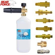 High Pressure Soap Foamer snow foam lance Foam Nozzle Foam Generator for Karcher Bosch Elitech Lavor Pennik Sink Pressure Washer