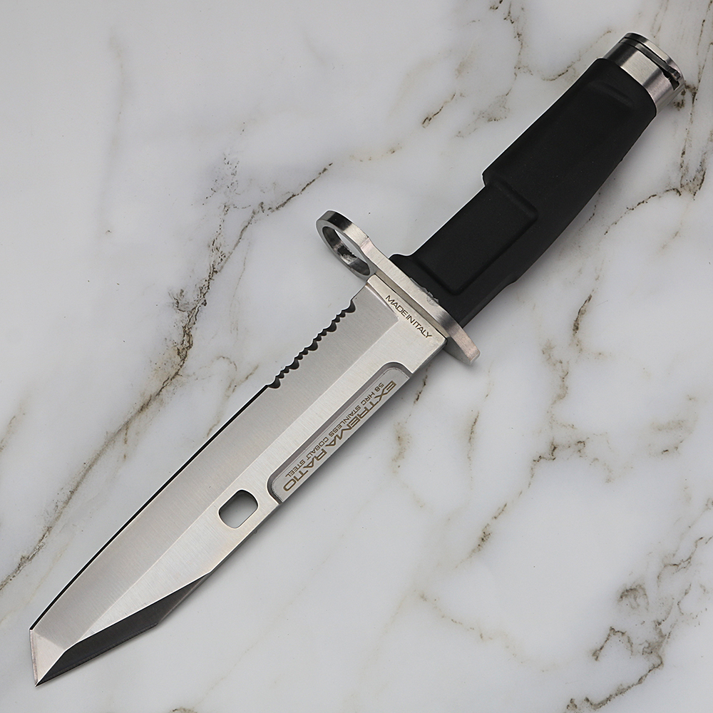 Outdoor EDC Basic Self-defense Tool Hunting Survival Knife Rescue Camping Knife Fixed Blade Knife
