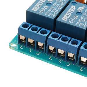 Image 2 - Módulo optoacoplador de relé de 6 canales, 3,3 V, aislamiento activo bajo paso para Arduino
