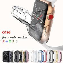 Чехол для apple watch series 5 4 3 2 1 band Универсальный Ультратонкий