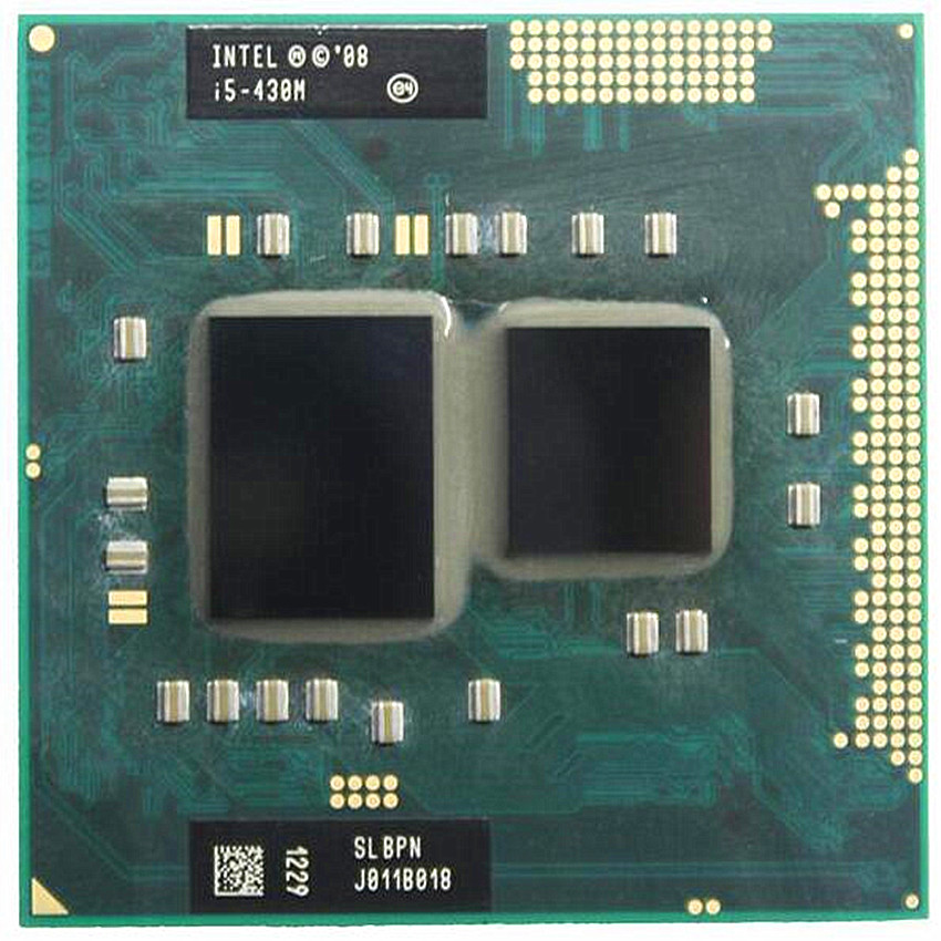 Intel Core I5 430m Cpu 3M/2.26GHz/2533 MHz/Dual-Core Laptop Processor I5-430M 35W  CPU Compatible PM55 HM57 HM55 QM57