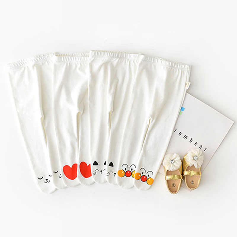 Spring Autumn Baby Girl Cotton Tights Stockings For Children Kids Pantyhose Toddler Leg Warmers Tights