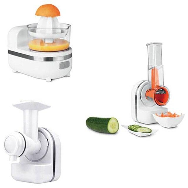 Fashion-150W 3 in 1 Cooking Machine Mixer Juice Machine to Make Jam Food Processor Dessert Making Juicer Food Processor UK Plug 1
