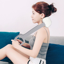 New Rechargeable Smart Electric Neck and Shoulder  Multi-Function Tool Massager Health Care Relaxation Cervical Vertebra health care smart rechargeable usb infrared heating neck massager electric relax cervical treatment acupuncture stimulator