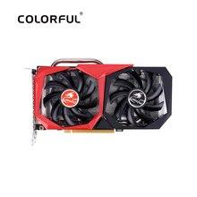 ملون غيفورسي GTX 1660 بطاقة الرسومات نفيديا GPU NB 6G GDDR5 بطاقة الفيديو 192 بت PCI E3.0 HDMI + DVI بطاقة جرافيكس لألعاب الكمبيوتر