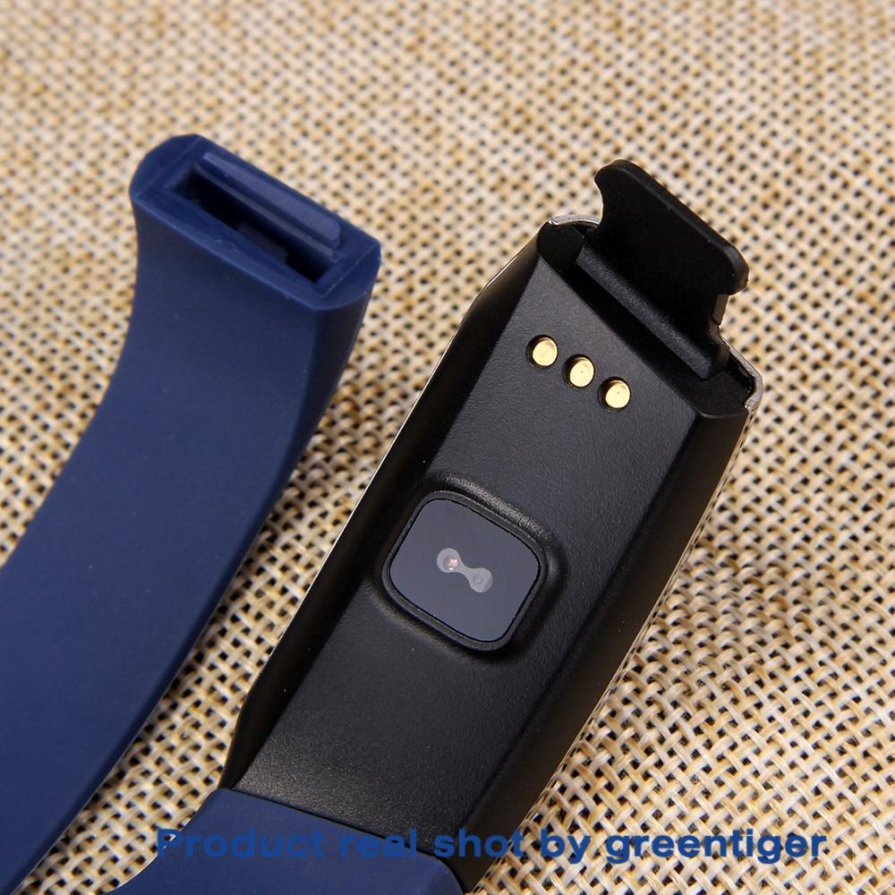 He7b0135147344b1787ed254b1755ff4c0 Greentiger E18 Smart Bracelet Blood Pressure Heart Rate Monitor Fitness Tracker smart watch IP67 Waterproof camera Sports Band