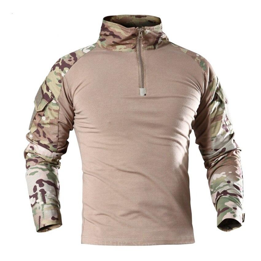 Uniforme militar de camuflaje para hombre, ropa táctica armada, Tops Multicam, chaqueta del ejército, chaleco a prueba de balas, equipo de combate