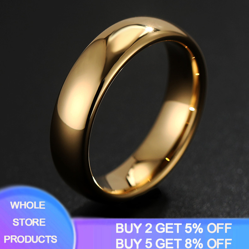 Round Rings Engagement-Ring Wedding-Band Women Jewelry 925-Silver YANHUI Simple Classic