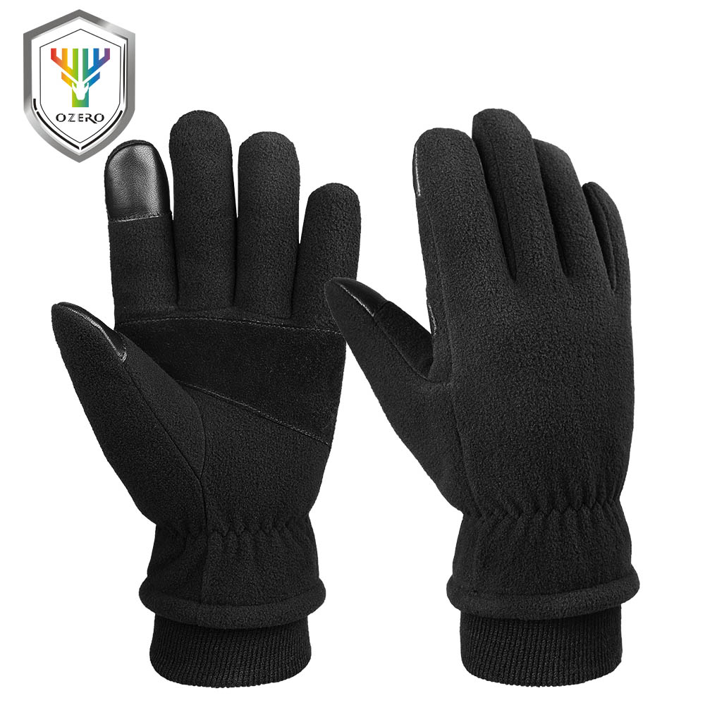 35℃ Thermal Winter Ski Snow Snowboard Thick Warm Motorcycle Gloves KIDS