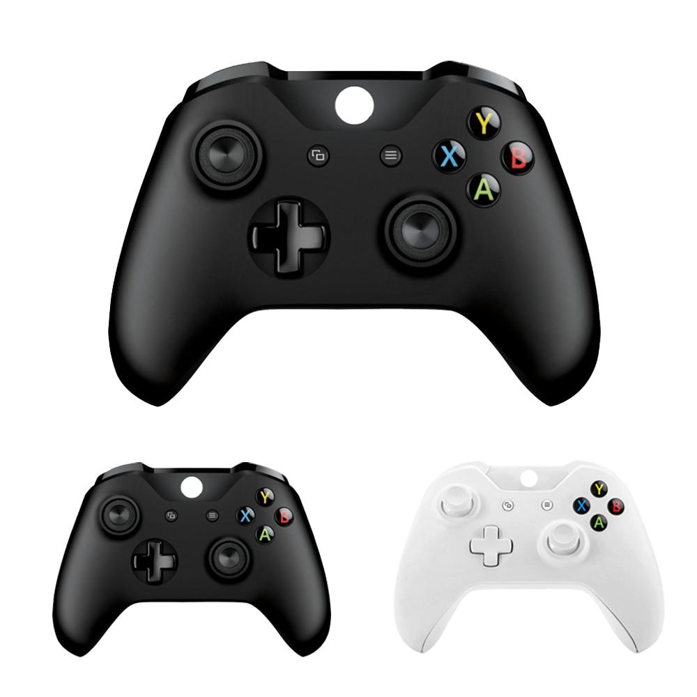 Controlador sem fio para microsoft xbox um controlador de computador controlador de computador controle mando para xbox um console fino gamepad joystick