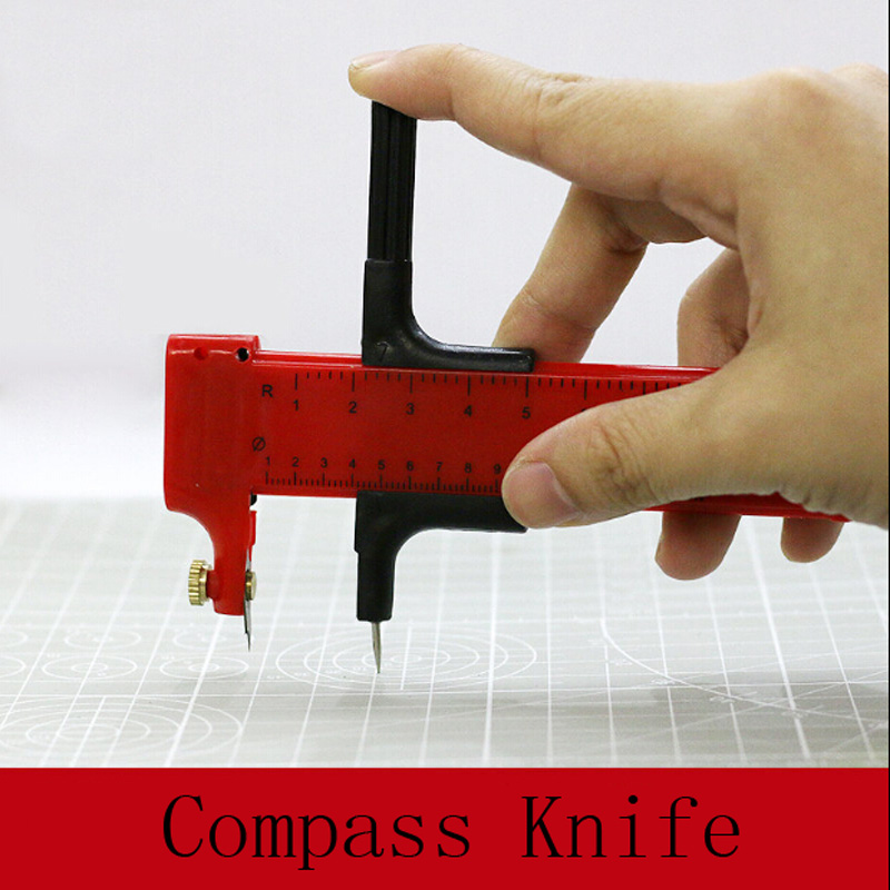 Model Making Tools Cutting Cover Paper And Rubber Sheet Compass Knife