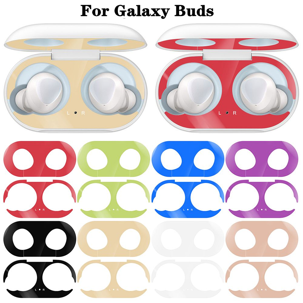Dustproof Sticker Guard For Samsung Galaxy Buds Earphone Case Protective Sticker For Galaxy Buds Pattern Sticker Accessories