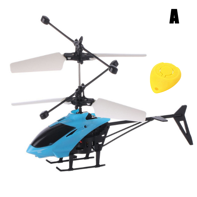 Flying Aircraft Sensor Helicopter Induction Glowing Toy For Children Kids Remote Control M09