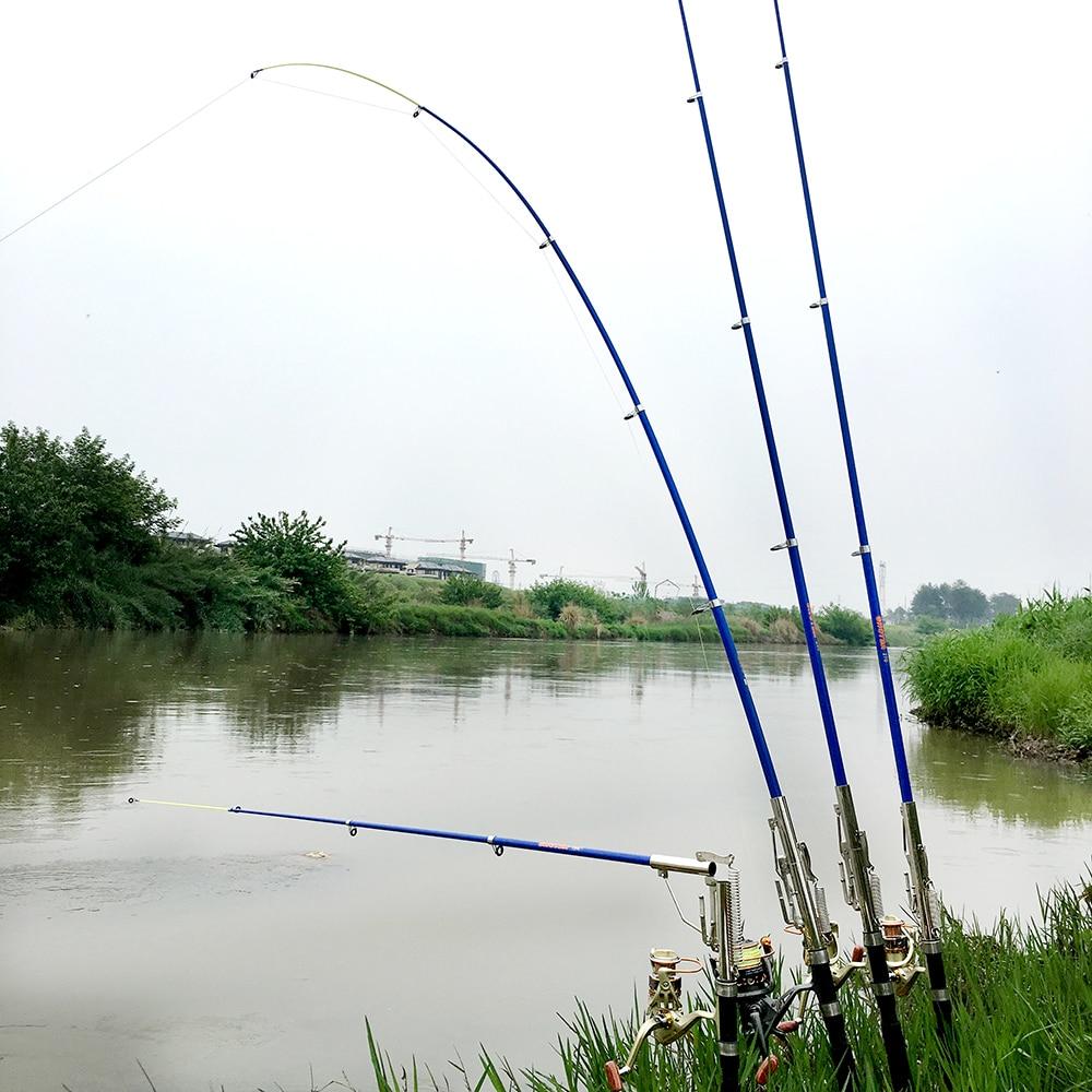 EG/_ EE/_ AUTOMATIC TELESCOPIC FISHING ROD SEA RIVER LAKE FISHING POLE SPINNING RO