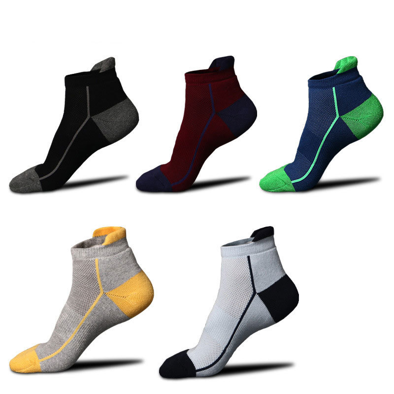 Spring Summer Mesh Sports Socks Quick-drying Breathable Socks Outdoor Sports Men's Basketball Socks Casual Thin Socks Socks