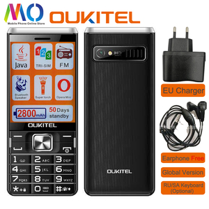 Original Unlocked oukitel L2801 Keyboard Mobile phone 2.8 inch 2800mAh Bluetooth Speaker FM Older Child Student small cellphone