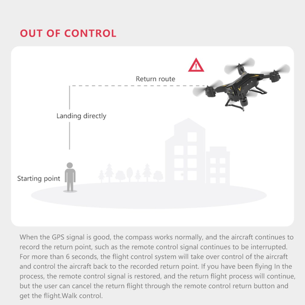 Drone GPS KY601G 4k drone HD 5G WIFI FPV drone vlucht 20 minuten quadcopter afstandsbediening afstand 2km drone camera - 6