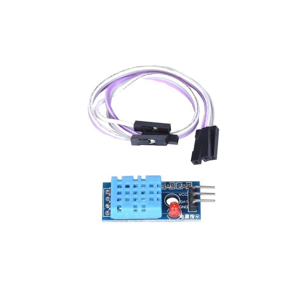 T60 DHT Temperature Sensor Dupont Temperature Humidity Sensor Heat Cool Temp Temperature Module Board For Arduino