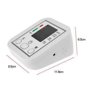 Tonometer Arm Automatic Blood Pressure Monitor BP Sphygmomanometer Pressure Meter Tonometer for Measuring Arterial Pressure 5