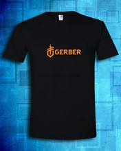 Gerber Legendary Blades Premium Tactical Knives Multi-Tool Black T-Shirt S-5XL(China)