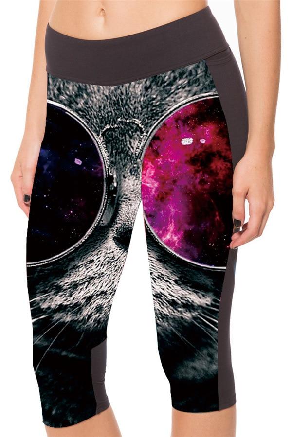 Summer styles Fashion Hot Women Hot Leggings Digital 3D Print Fitness Sexy Leggins plus size Push Up Pants Drop Shipping thumbnail