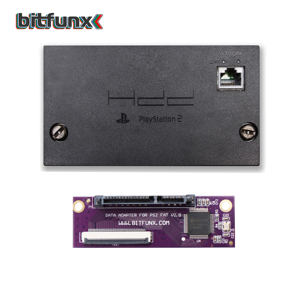SATA Upgrade Kit And The Second-hand PS2 Original IDE Network Adapter Japanese Version