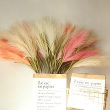 100cm ins artificial selvagem reed ramo pequeno reed grama reed artificial planta casamento natal decoração para casa flores falsas