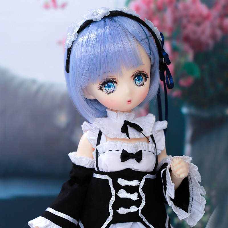 OUENEIFS Xiongmei BJD Doll 1/4 Animation Comic Maidservant High Mobility Ball Jointed Doll Oueneifs