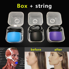 Fitness Face Masseter men facial pop n go mouth jawline Jaw Muscle Exerciser chew ball chew bite breaker training