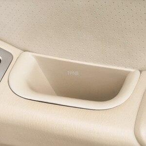 Image 5 - 4 Pz/set Auto Scatola di Immagazzinaggio Porta per Toyota Land Cruiser Prado 120 2003 2004 2005 2006 2007 2008 2009 Accessori