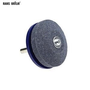 Image 1 - Точилка для косилки, установленный на валу 6 мм диаметр 50 мм абразивная колесная дрель для заточки ножей