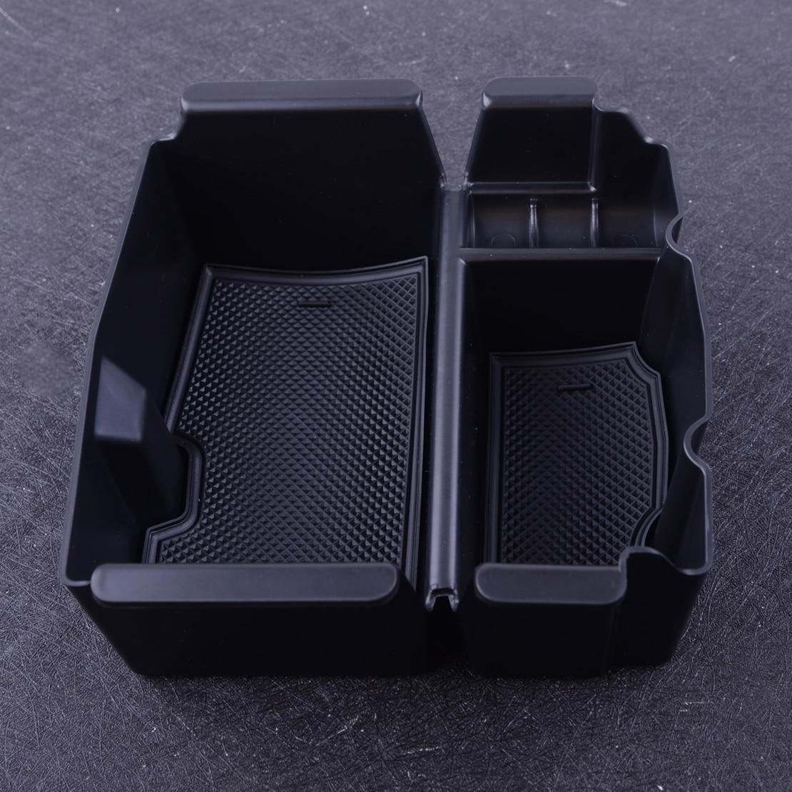 dwcx center console caixa de armazenamento apoio braco caso bandeja organizador recipiente apto para jeep wrangler
