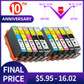 QSYRAINBOW принтер чернильный картридж 364XL HP 364 XL Замена для HP Photosmart 5510 5515 6510 B010a B109a B209a Deskjet 3070A HP364