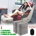 Надувная портативная дорожная подставка для ног  наволочка для самолета поезда  детская кровать  подставка для ног  подушка для самолета по...