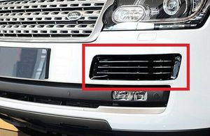 Gloss Black Fog grille molding cover trim For land Range rover L405 2013 2017|Chromium Styling|   -