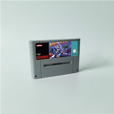 ميجا مان X MegaMan X عمل بطاقة الألعاب EUR النسخة اللغة الإنجليزية
