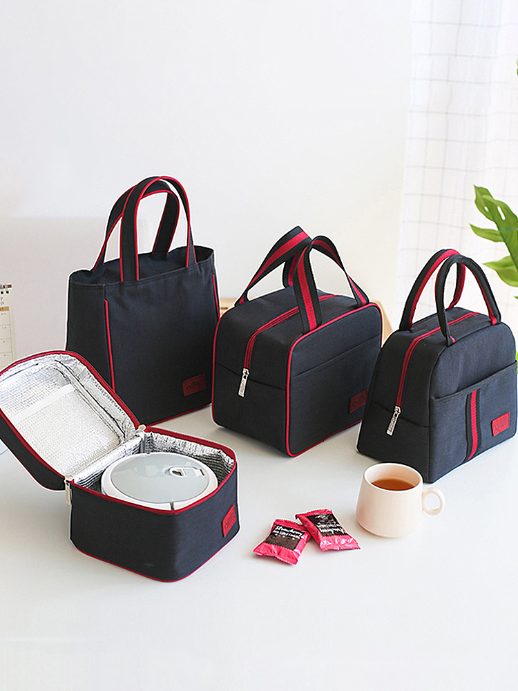 Accessories Tote Cooler Lunch-Bag Bento Food Picnic Travel Family Insulated Portable