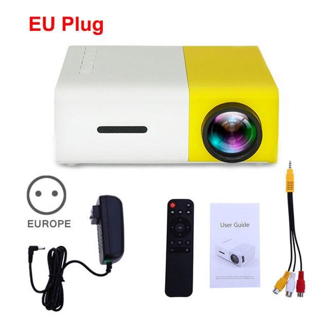 Yellow EU Plug