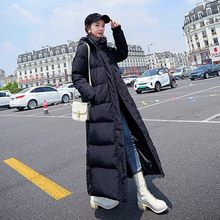 Winter Jacket Women Hooded Coat Maxi Long Large Size Plus Size Extra Female Lady Snow Warm Thicken Overcoat Outerwear Quilted(China)