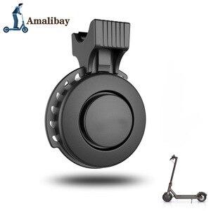 Image 2 - Oplaadbare Scooter Bel 120dB Waterdichte Stuur Hoorn Alarm Voor Xiaom Mijia M365 /M365 Pro Voor Ninebot ES1 ES2 Scooter