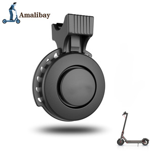Image 2 - Rechargeable Scooter Bell 120dB Waterproof Handlebar Horn Alarm for Xiaom Mijia M365 /M365 Pro For Ninebot ES1 ES2 Scooter