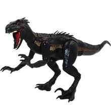 Hot Jurassic World Park Indoraptor Velociraptor Active Dinosaurs Action Figure Toys For Boys Children Animal Model Doll Gift