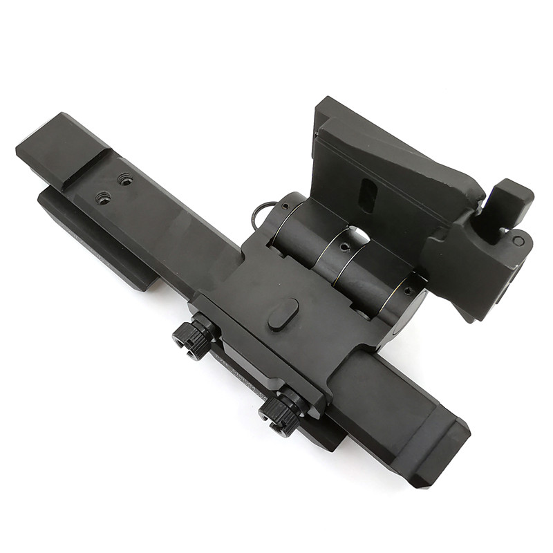 Tactical  Magnifier Flip Mount Flip-To-Side Quick Detach with 5/8 inch Riser for EOTech G23 G33 Fits 20mm Picatinny Rail scope