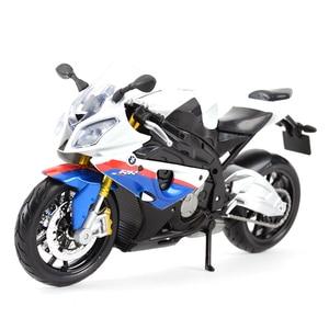 Image 1 - Maisto 1:12 BMW S 1000 RR Литой Транспортных средств Коллекционная хобби модель мотоцикла, игрушки